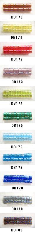 MIYUKI ミユキのデリカビーズが20%OFF 購入 DB170 DB171 DB172 DB173 DB174 DB175 DB176 DB177 20g RPT BA001 DB179 ミユキ DB178 丸 新品 デリカビーズ DB180