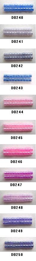 MIYUKI 正規取扱店 ミユキのデリカビーズが20%OFF DB240 DB241 DB242 DB243 DB244 DB245 DB246 DB247 ミユキ DB249 DB250 20g 宅配便送料無料 デリカビーズ 丸 BA001 RPT DB248
