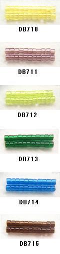 MIYUKI ミユキのデリカビーズが20%OFF DB710 DB711 DB712 DB713 DB714 丸 BA001 国内送料無料 RPT 期間限定特価品 デリカビーズ DB715 20g ミユキ