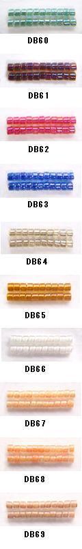 MIYUKI 人気ブランド多数対象 ミユキのデリカビーズが20%OFF DB60 DB61 DB62 DB63 国際ブランド DB64 DB65 DB66 デリカビーズ ミユキ DB67 BA001 RPT DB69 DB68 丸 20g