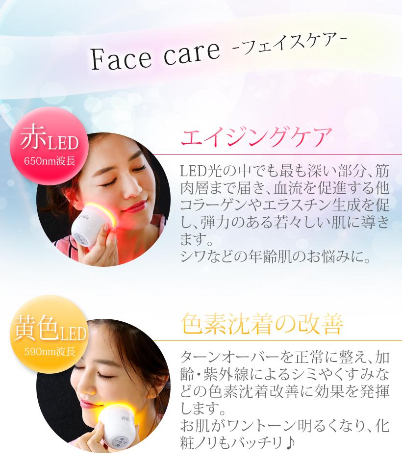 Mitsuyoshi container belulu Hikari Mini <handy type /LED light beauty treatment salon is home! >