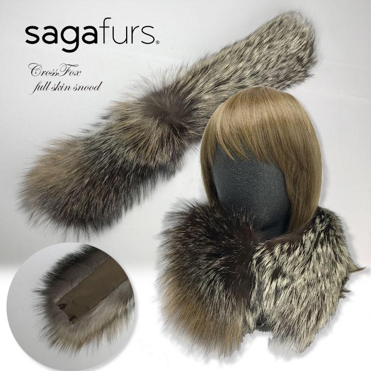 SAGAクロスフォックススヌード 40208日本製