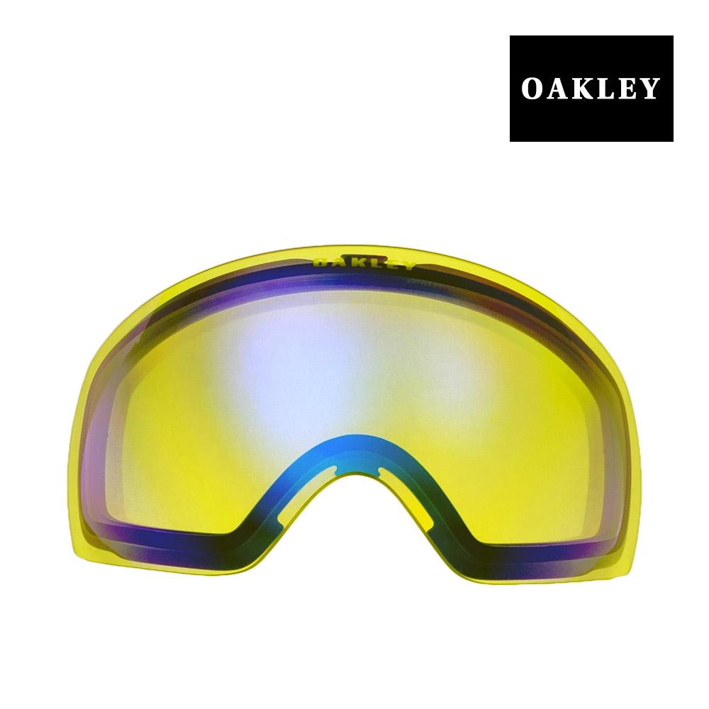 オークリー フライトデッキ ゴーグル 交換レンズ 101-104-002 OAKLEY FLIGHT DECK XM スノーゴーグル H.I.YELLOW