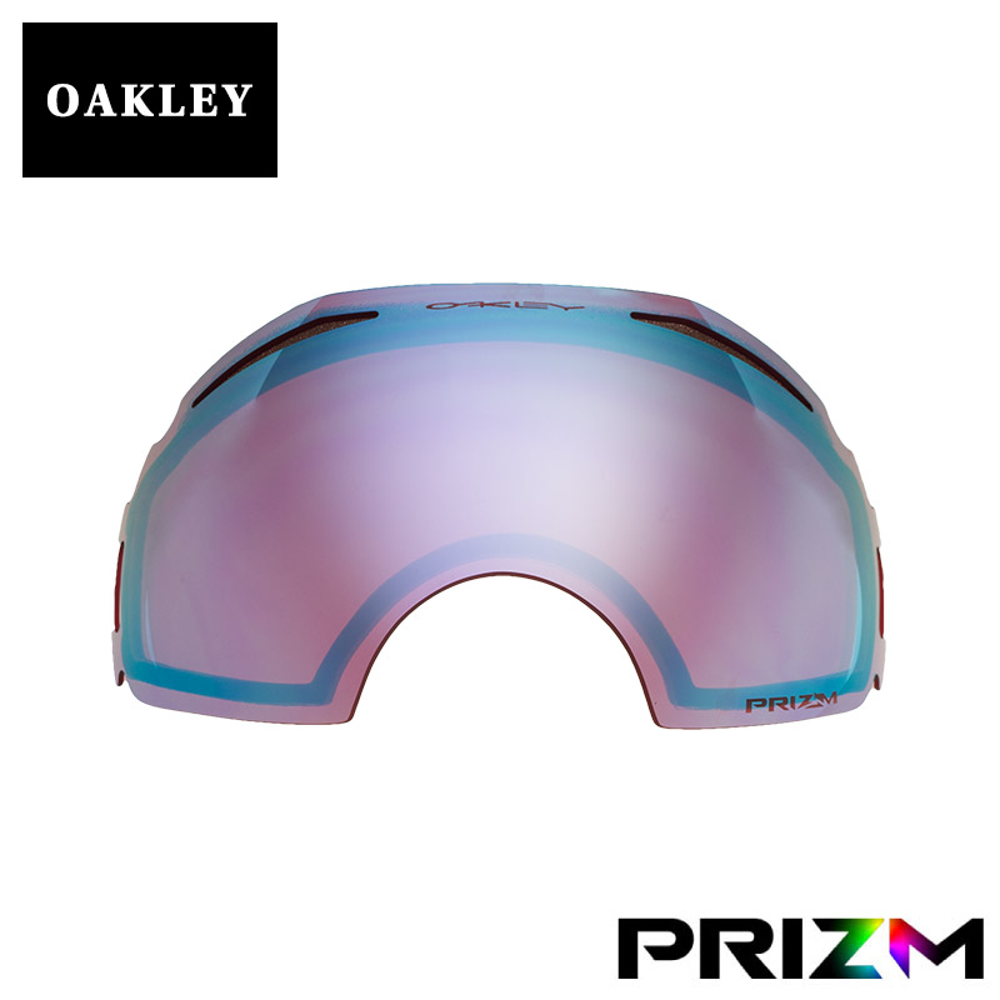 オークリー エアブレイク ゴーグル 交換レンズ プリズム 101-242-002 OAKLEY AIRBRAKE スノーゴーグル PRIZM SAPPHIRE IRIDIUM