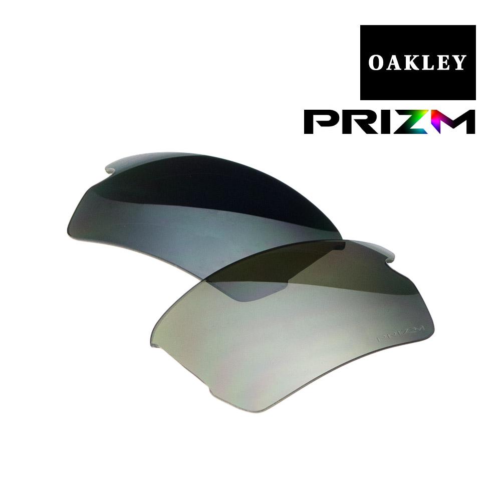 オークリー スポーツ サングラス 交換レンズ OAKLEY FLAK2.0 アジアンフィット ジャパンフィット フラック PRIZM BLACK POLARIZED 102-751-002 偏光レンズ プリズム