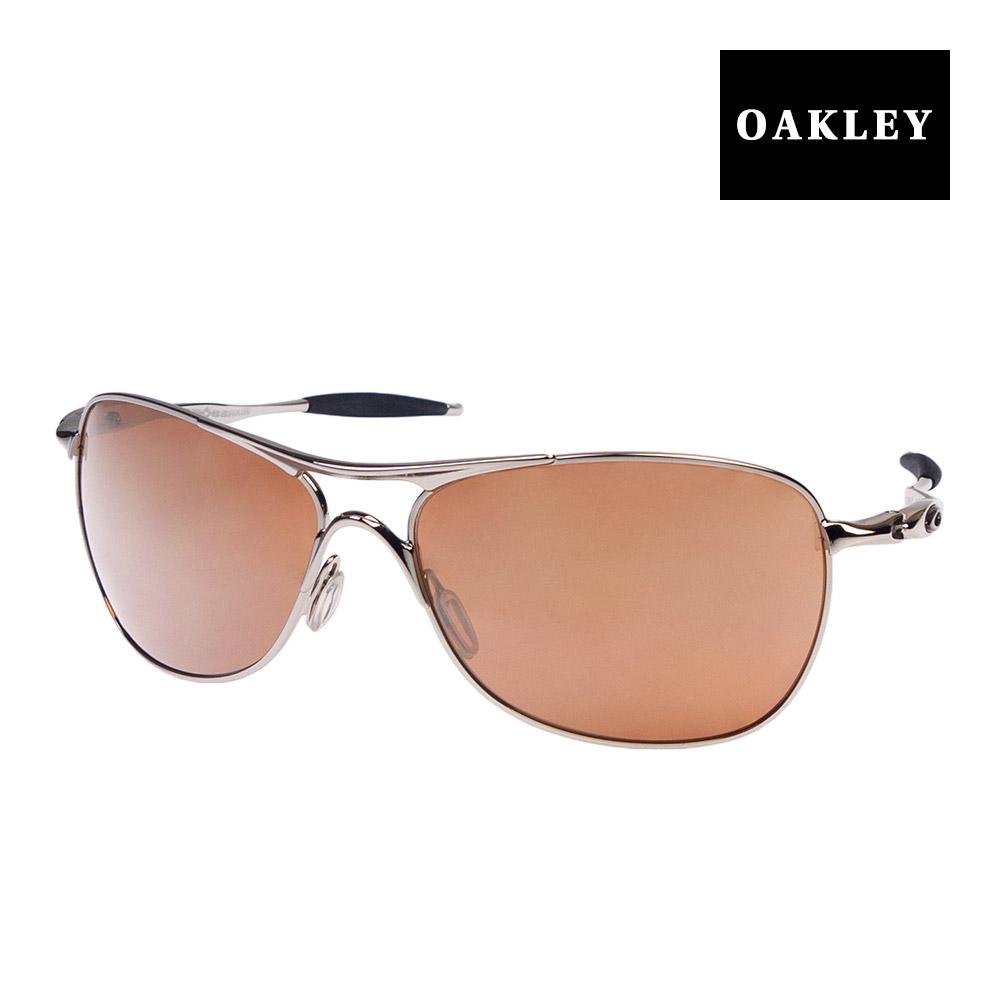 eae1caeb01 Oakley sunglasses OAKLEY oo4060-02 CROSSHAIR( cross hair) POLISHED CHROME VR28  BLACK IRIDIUM silver system eyewear sunglasses