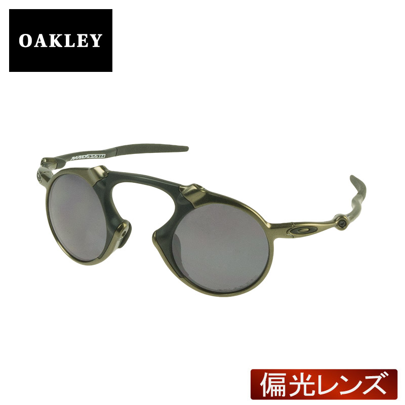 48baf26abc2 Oakley Sunglasses polarized lens OAKLEY oo6019-02 MADMAN madman (PEWTER BLACK  IRIDIUM POLARIZED)