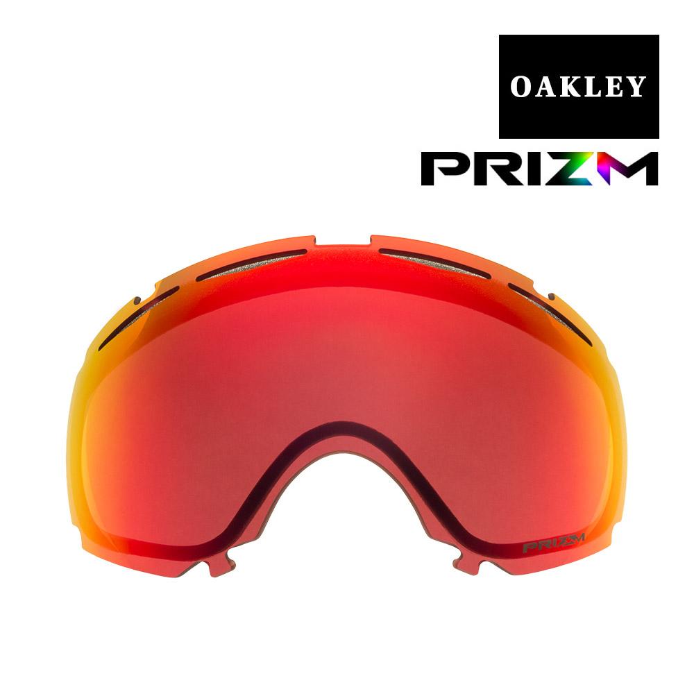 オークリー キャノピー ゴーグル 交換レンズ プリズム 101-243-003 OAKLEY CANOPY スノーゴーグル PRIZM TORCH IRIDIUM