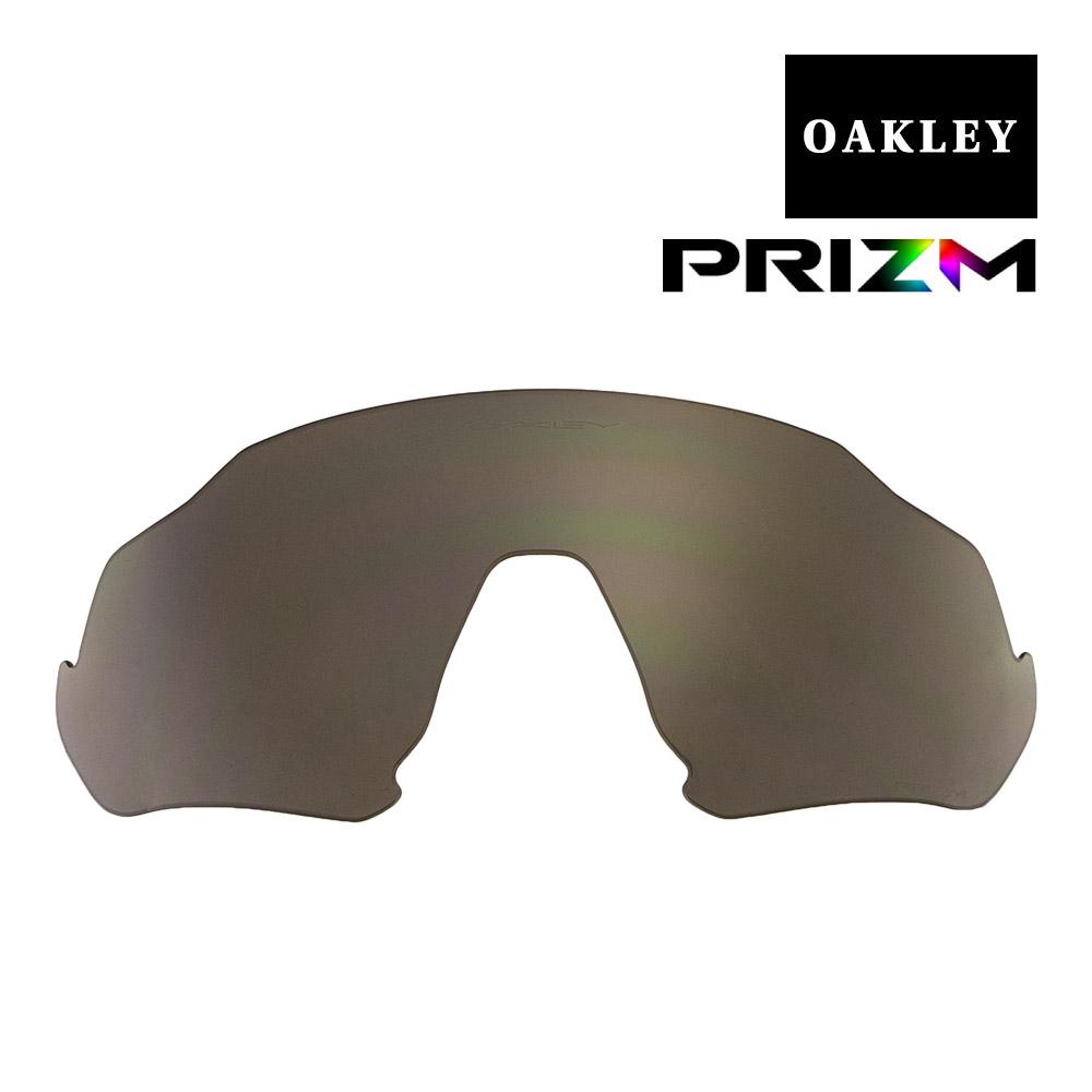 オークリー フライトジャケット サングラス 交換レンズ プリズム 102-899-003 OAKLEY FLIGHT JACKET スポーツサングラス PRIZM GRAY