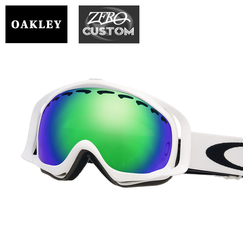 1e613f948c5 Oakley + ZERO our store original custom goggles snow goggle OAKLEY CROWBAR  clover glow bar standard fitting ozcg-crw003
