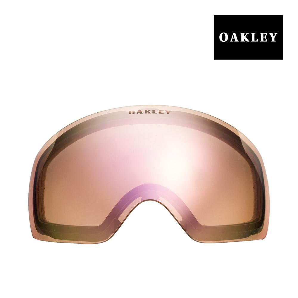 オークリー フライトデッキ ゴーグル 交換レンズ 101-104-004 OAKLEY FLIGHT DECK XM スノーゴーグル VR50 PINK IRIDIUM