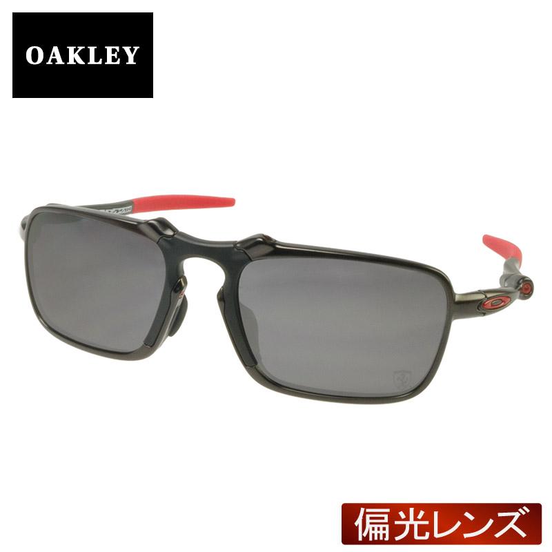 9abeccf143 Oakley Sunglasses polarized lens OAKLEY oo6035-04 BADMAN Badman Asian fit (DARK  CARBON BLACK IRIDIUM POLARIZED) Ferrari models