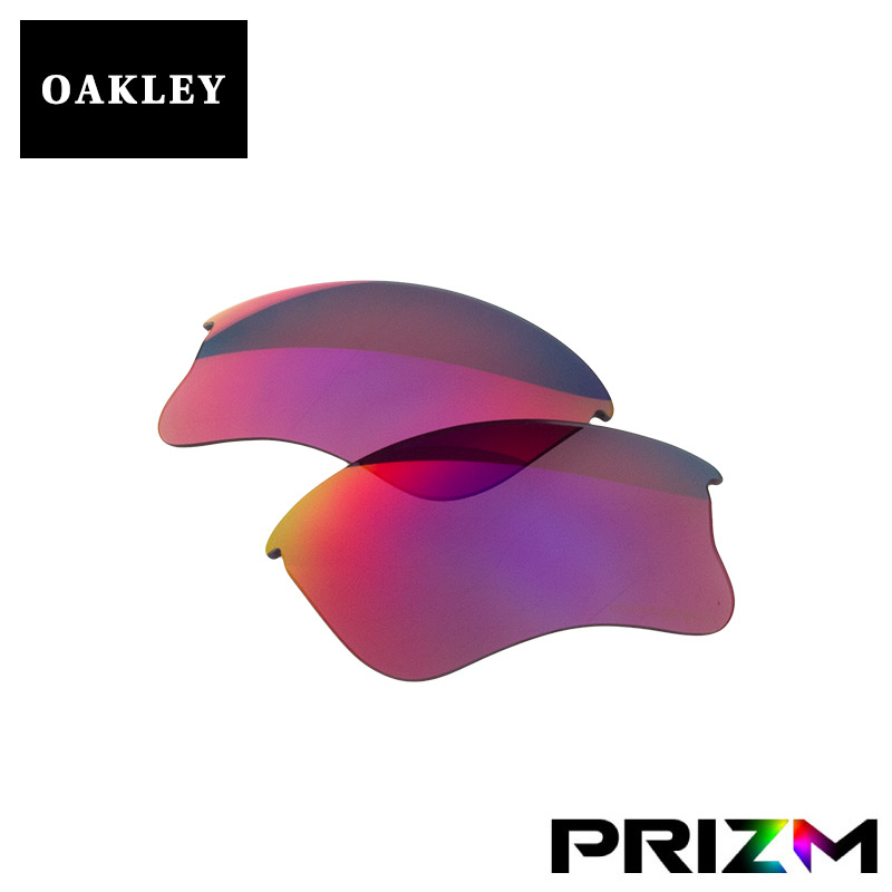 オークリー フラックジャケット サングラス 交換レンズ ランニング ロード用 プリズム 101-106-005 OAKLEY FLAK JACKET XLJ A スポーツサングラス PRIZM ROAD