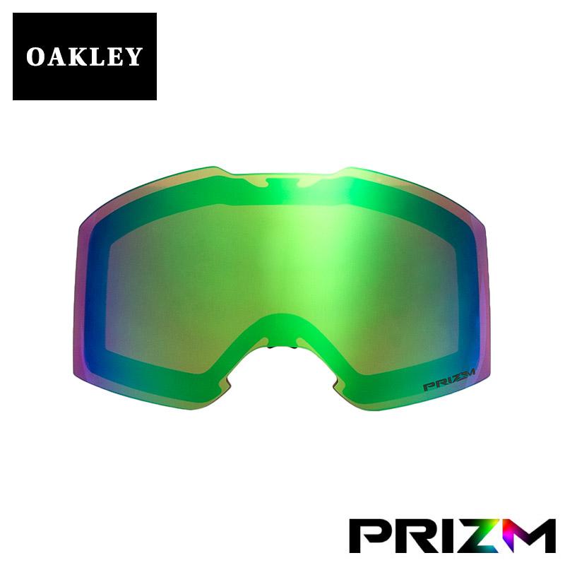 オークリー フォールライン ゴーグル 交換レンズ プリズム 102-435-005 OAKLEY FALL LINE スノーゴーグル PRIZM JADE IRIDIUM