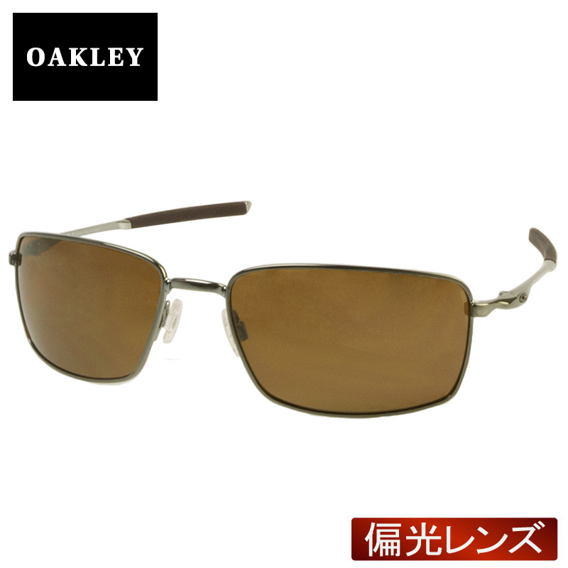 3748200ed5b95 Oakley square wire standard fitting sunglasses polarization oo4075-06 OAKLEY  SQUARE WIRE during the up to 2