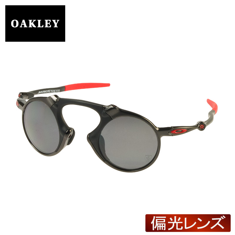 a4c4e2f84e1 Oakley Sunglasses polarized lens OAKLEY oo6019-06 MADMAN madman (DARK  CARBON BLACK IRIDIUM POLARIZED)