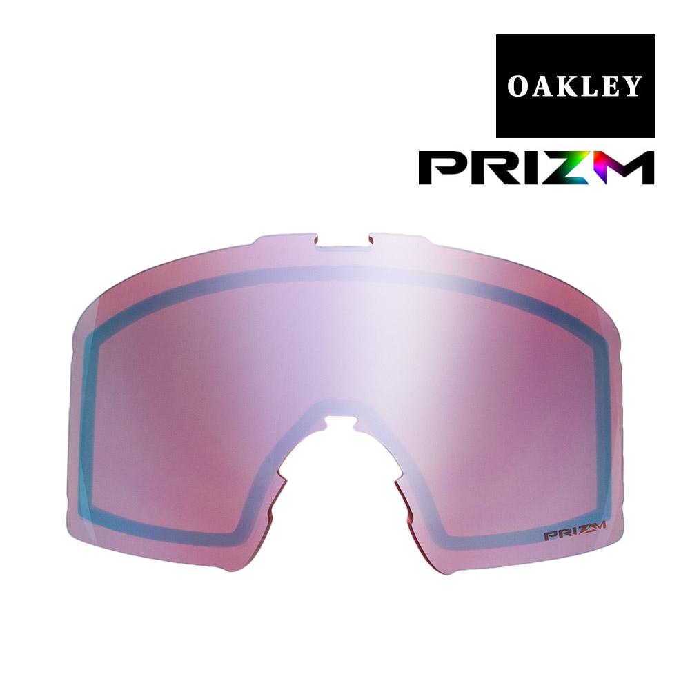 オークリー ラインマイナー ゴーグル 交換レンズ プリズム 101-643-007 OAKLEY LINE MINER スノーゴーグル PRIZM SAPPHIRE IRIDIUM