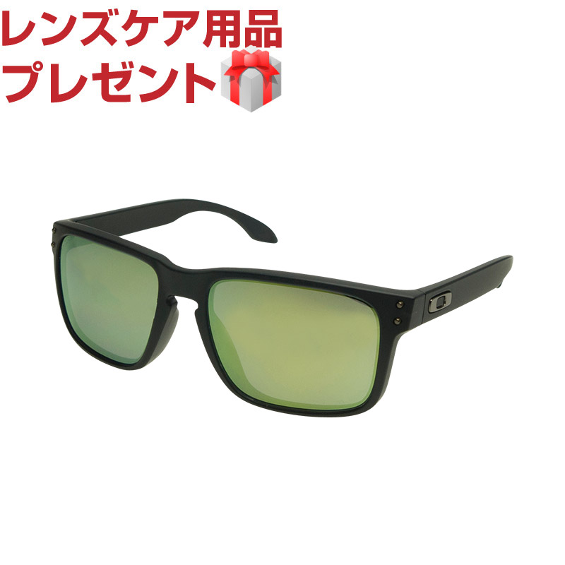 b94c5e6655 Oakley Sunglasses OAKLEY oo9244-07 HOLBROOK (Holbrook) Asian fit MATTE BLACK  INK EMERALD IRIDIUM