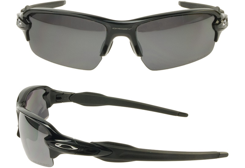 655bcdc6d9 Oakley Sunglasses polarized lens OAKLEY oo9271-07 FLAK 2.0 flack Asian fit  (POLISHED BLACK BLACK IRIDIUM POLARIZED)