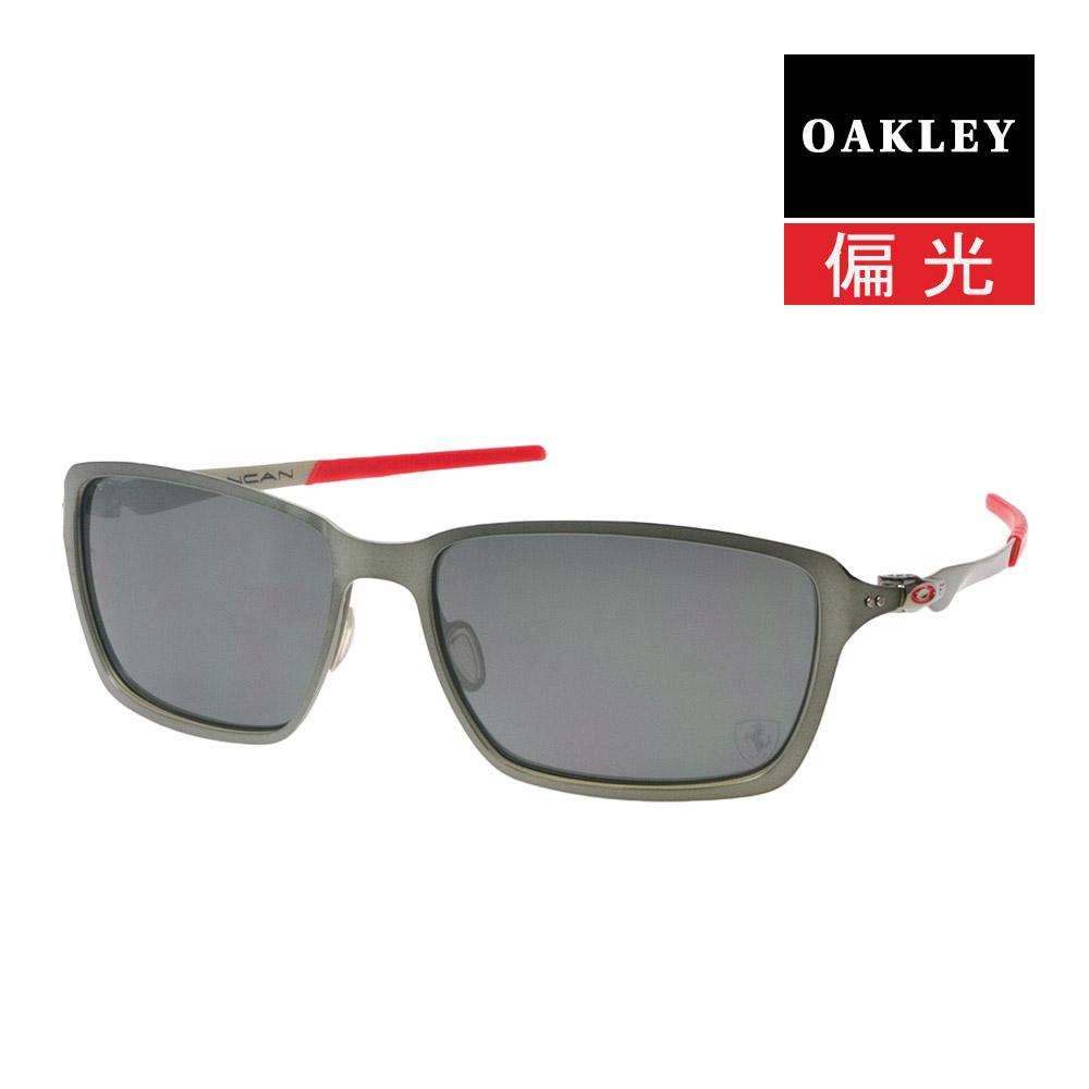 9f17fe24fe Oakley Sunglasses OAKLEY oo4082-09 TINCAN tincan (the BLACK CHROME BLACK  IRIDIUM POLARIZED) Ferrari models