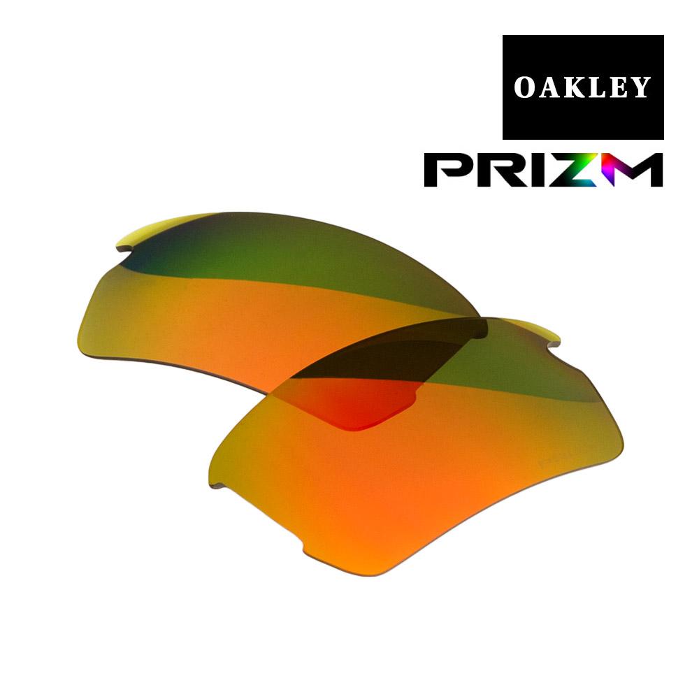 オークリー フラック アジアンフィット サングラス 交換レンズ プリズム 102-751-011 OAKLEY FLAK2.0 ジャパンフィット スポーツサングラス PRIZM RUBY