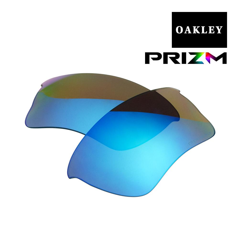 オークリー クォータージャケット サングラス 交換レンズ プリズム 偏光 101-113-014 OAKLEY QUARTER JACKET スポーツサングラス PRIZM SAPPHIRE POLARIZED
