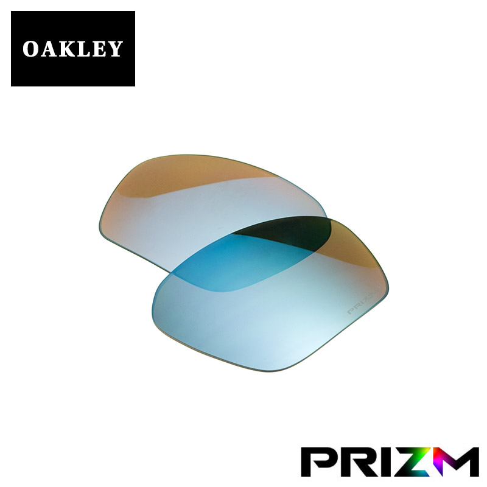 最大2000円OFFクーポン配布中 オークリー フィールドジャケット サングラス 交換レンズ つり用 プリズム 偏光 102-900-017 OAKLEY FIELD JACKET スポーツサングラス PRIZM DEEP WATER POLARIZED
