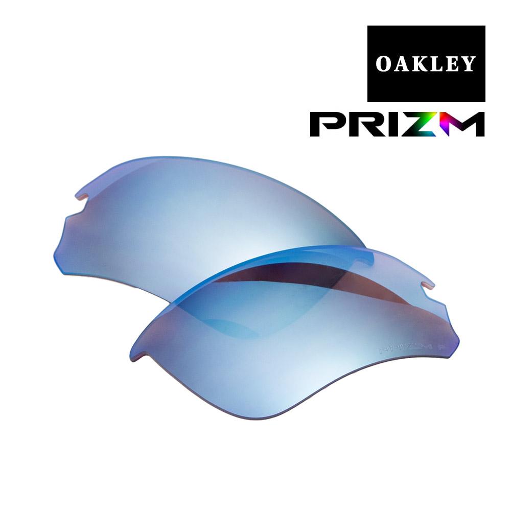 オークリー フラックドラフト アジアンフィット サングラス 交換レンズ つり用 プリズム 偏光 102-563-018 OAKLEY FLAK DRAFT ジャパンフィット スポーツサングラス PRIZM DEEP WATER POLARIZED
