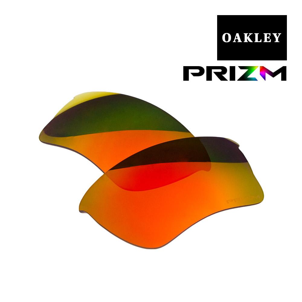 オークリー クォータージャケット サングラス 交換レンズ プリズム 101-113-021 OAKLEY QUARTER JACKET スポーツサングラス PRIZM RUBY