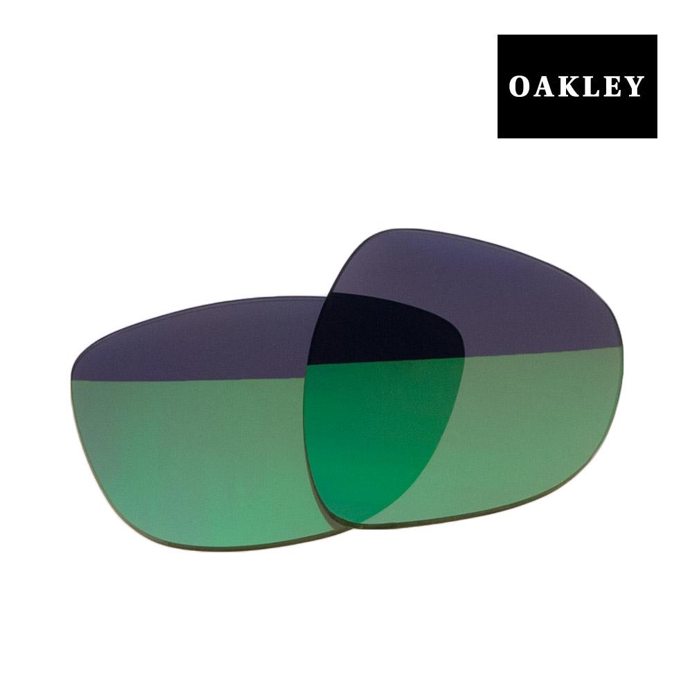 【最大2000円OFFクーポン配布中】 オークリー フロッグスキン サングラス 交換レンズ 43-427 OAKLEY FROGSKINS JADE IRIDIUM