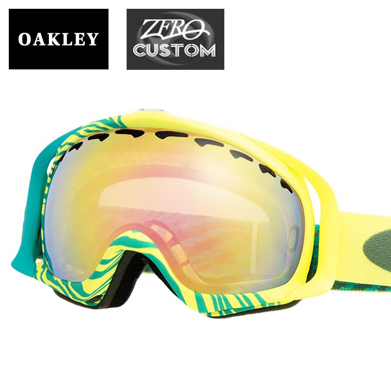 98c30936bae2 Oakley + ZERO our store original custom clover standard fitting goggles  ozcg-crw027 OAKLEY CROWBAR snow goggle
