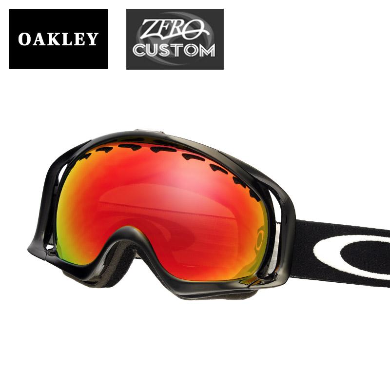 2aabbed5678b Oakley + ZERO our store original custom clover standard fitting goggles  ozcg-crw030 OAKLEY CROWBAR snow goggle