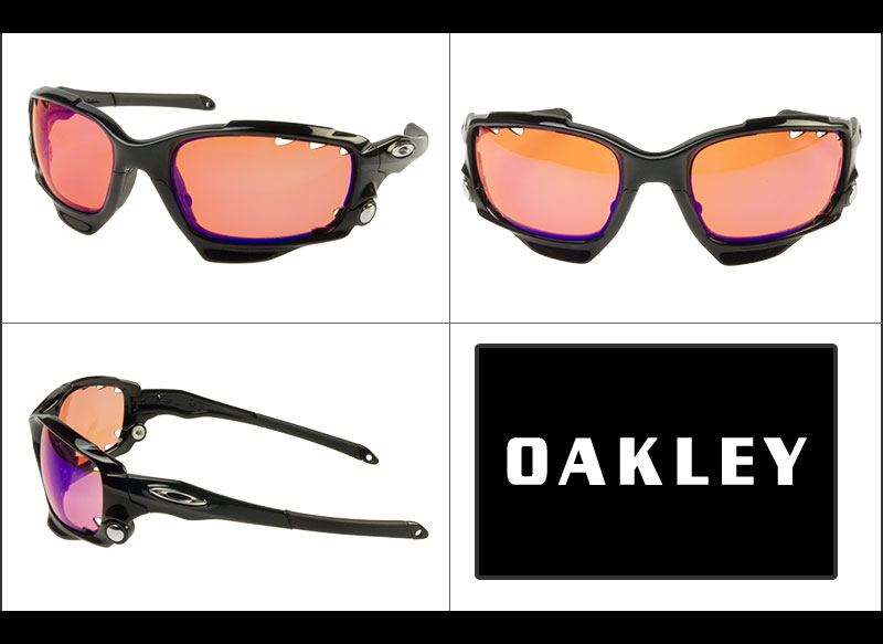 46e64459ae97 Oakley Sunglasses OAKLEY oo9171-33 RACING JACKET racing jacket US fits (POLISHED  BLACK PRIZM TRAIL VENTED)