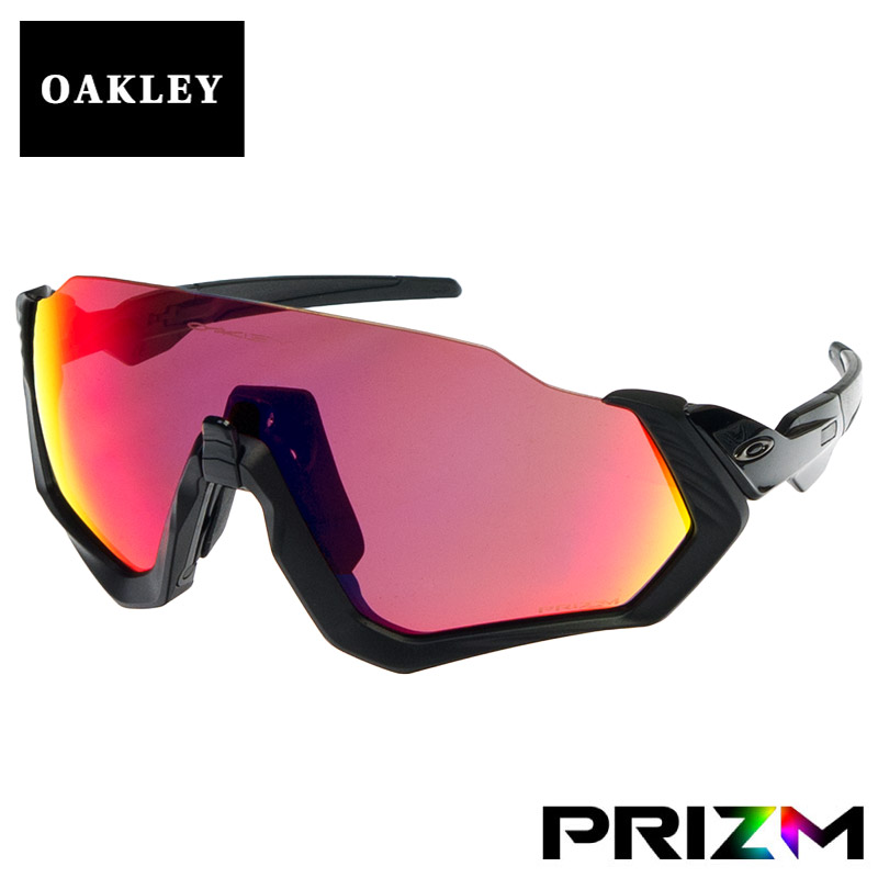 ee63f068a7 OBLIGE  Prism oo9401-0137 OAKLEY FLIGHT JACKET for the Oakley flight jacket  standard fitting sunglasses running road