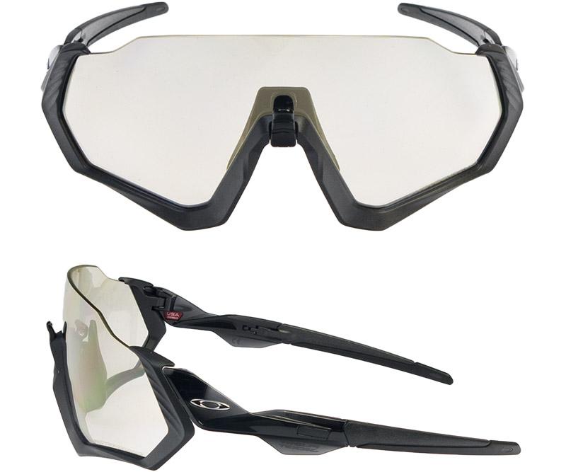 aa9899038fb2d Oakley flight jacket standard fitting sunglasses light control oo9401-0737  OAKLEY FLIGHT JACKET during the up to 2