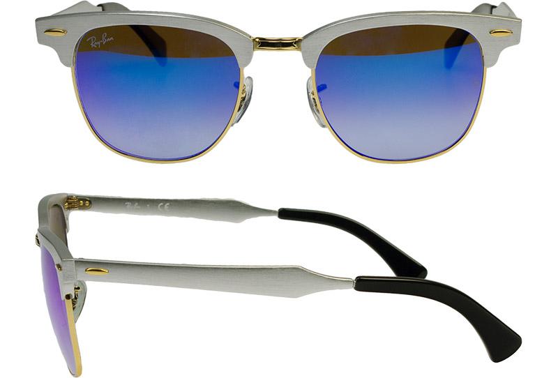 dbe55f1438 Ray Ban sunglasses RAYBAN rb 3507 137   7 q 51 CLUBMASTER ALUMINUM Club  master aluminum