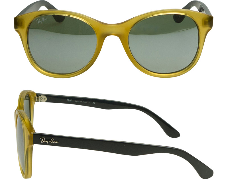e2a32ada13 Ray-Ban Sunglasses RB4203 604340 51 Opaline Yellow