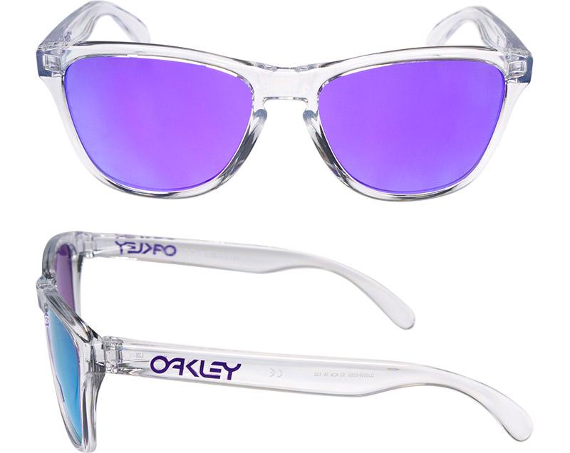 76d0d82772d Oakley frog skin use fitting sunglasses oj9006-0353 OAKLEY FROGSKINS XS