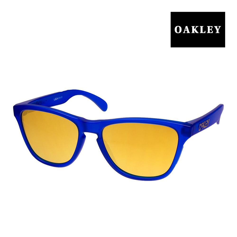 【最大1,000円OFFクーポン配布中】 オークリー フロッグスキン ユースフィット サングラス oj9006-0453 OAKLEY FROGSKINS XS