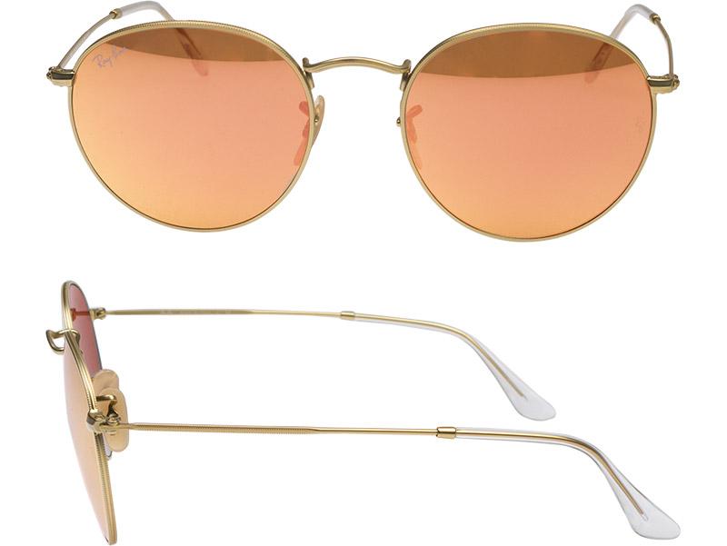 Ray Ban sunglasses RAYBAN rb3447 112 / z2 53 ROUND METAL round metal