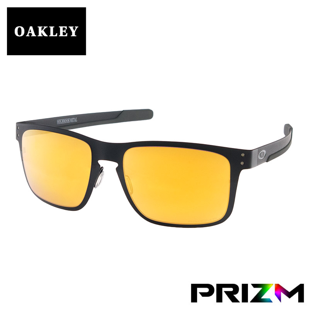 オークリー ホルブルックメタル スタンダードフィット サングラス プリズム 偏光 oo4123-2055 OAKLEY HOLBROOK METAL