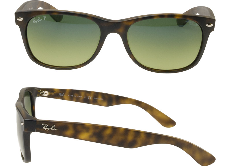 6a53f39a43 OBLIGE  Ray-Ban Sunglasses RB2132 894 76 55 New Wayfarer Matte ...