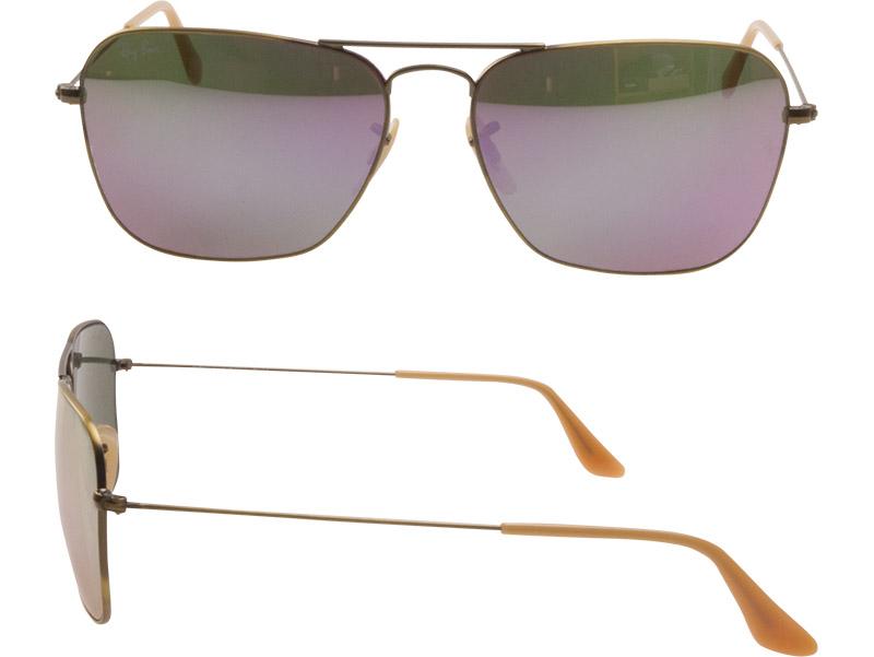 811d1eee1b Ray-Ban Sunglasses RB3136 167 4K 58 Caravan Blush Bronze Demi Gross