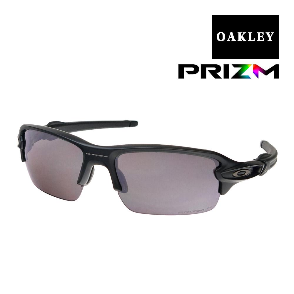 オークリー フラック ユースフィット サングラス プリズム 偏光 oj9005-0859 OAKLEY FLAK XS スポーツサングラス