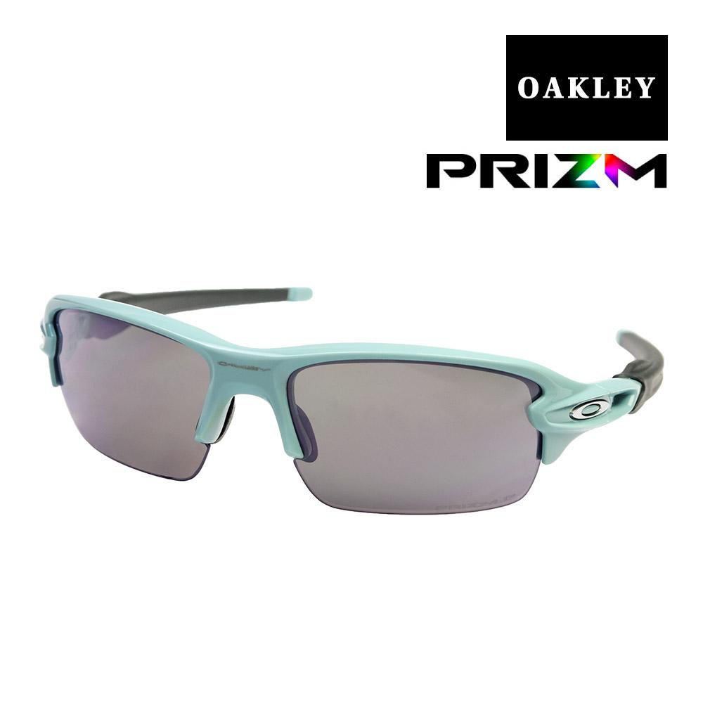 オークリー フラック ユースフィット サングラス プリズム 偏光 oj9005-1159 OAKLEY FLAK XS スポーツサングラス