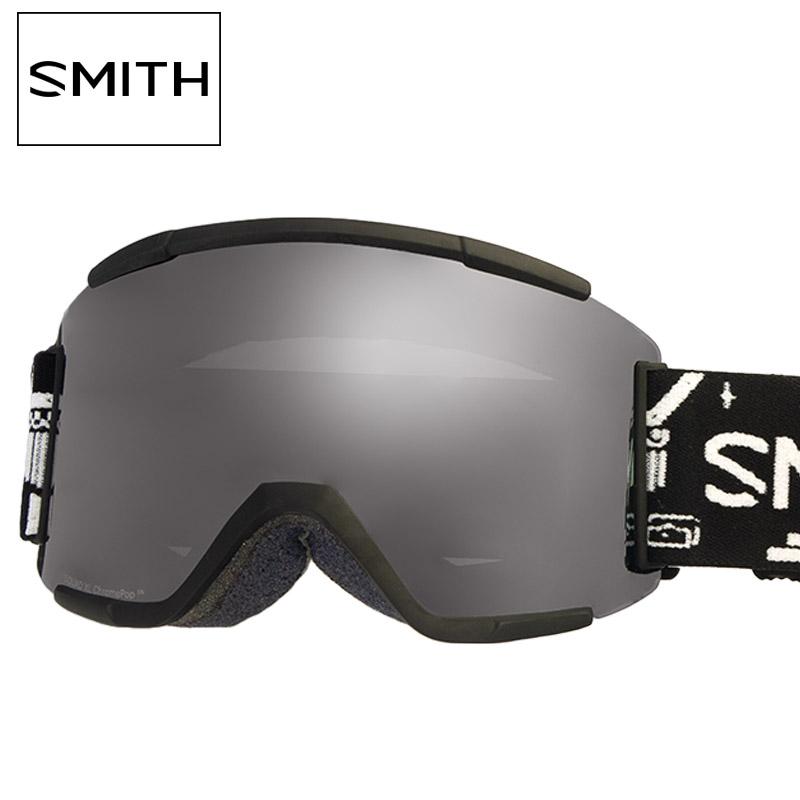 スミス ゴーグル スノーゴーグル SMITH SQUAD XL スカッド アジアンフィット ジャパンフィット m0070223r995t クロマポップ 2019-2020 新作