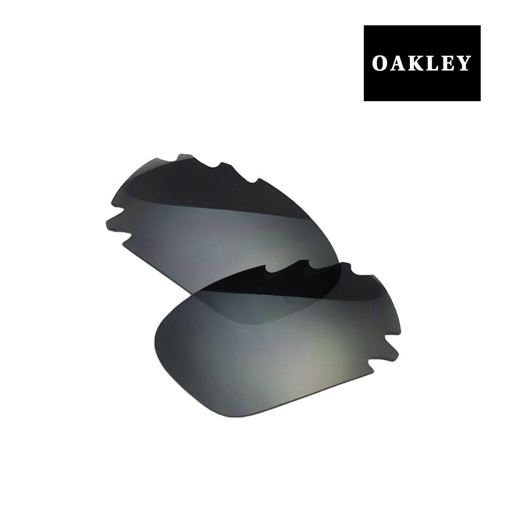 【最大2000円OFFクーポン配布中】 オークリー レーシングジャケット サングラス 交換レンズ 41-782 OAKLEY RACING JACKET スポーツサングラス BLACK IRIDIUM VENTED