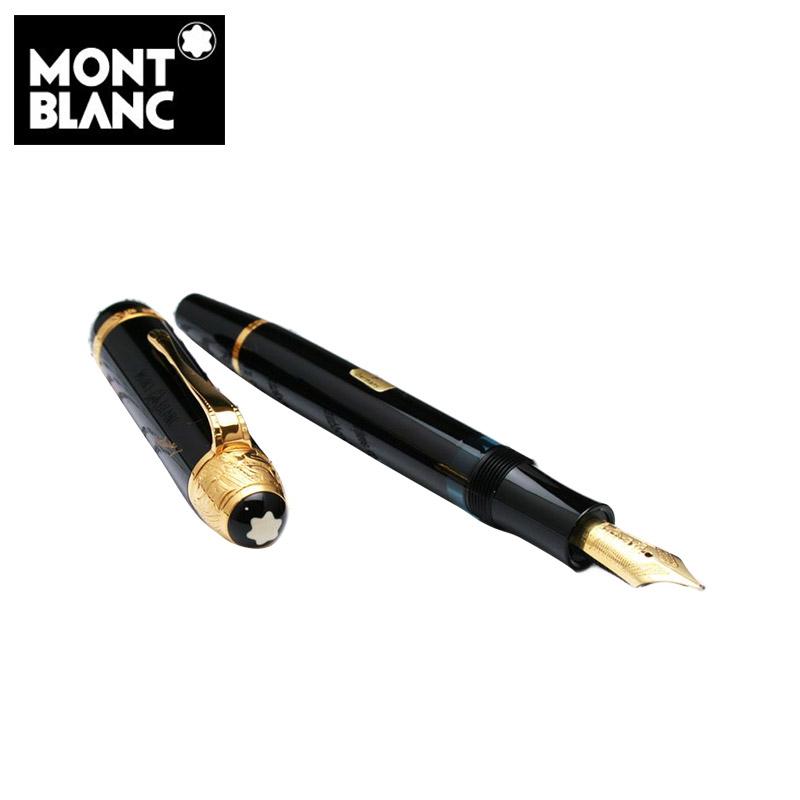 モンブラン 筆記具 万年筆 作家シリーズ限定品1995年 MONTBLANC ボルテール