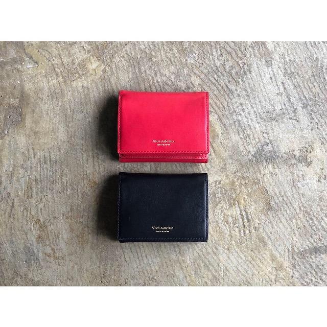 【VIOLAd'ORO】ヴィオラドーロ 『PORTA』Bicolor Leather Mini style V-5040