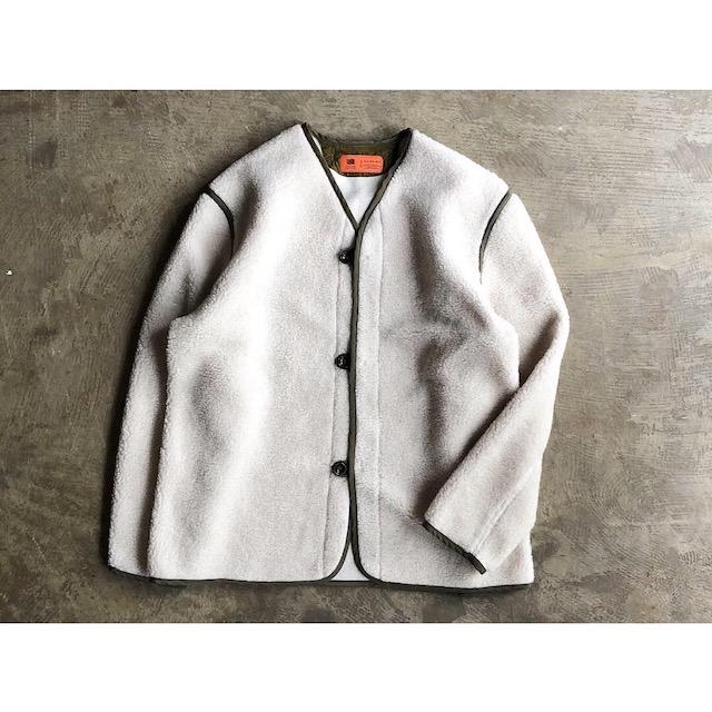 SERVICE PRICE 30割【melple】メイプルHEAT WARM Sheep Boa Cardigan style No.18FW-MP005